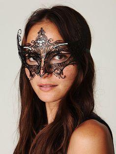 Very pretty for a masquerade ball!