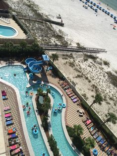 We love the lazy river and water slide at Phoenix IX! #BRbeachlife15