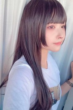 Long Tapered Hime Cut ❤ The royal him cut seems to have taken over the world with its cute and beautifying appearance. Check out our fresh pics to find out why it's so special! #himecut #lovehairstyles #hair #hairstyles #haircuts Japanese Trends, Tapered Haircut, Thin Hair Haircuts, Pixie Cut, Japanese Girl, Hair Trends, Casual Looks, How To Find Out, Hair Cuts