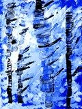 Artsonia Art Exhibit :: Snowy Sky Forest-movement