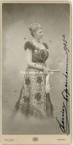 Signed Louise of Sweden & Norway (1851-1926). Queen Denmark. 1905. | eBay