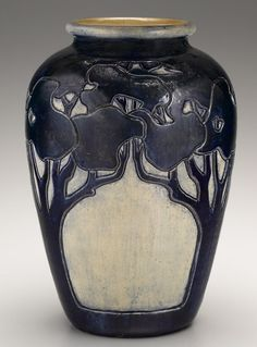 Arts and Crafts vase made by Newcomb pottery