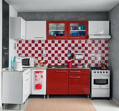Cozinha com área quadrada e eletrodomésticos por 10 x R$ 671 - Casa