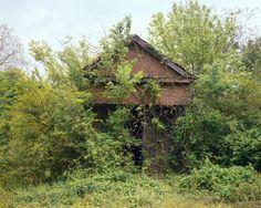 WILLIAM CHRISTENBERRY  Building with False Brick Siding, Warsaw, Alabama, 1991