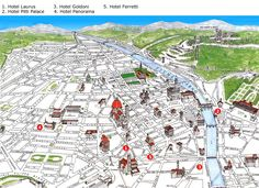Florence Map Florence Pinterest Florence and Italy