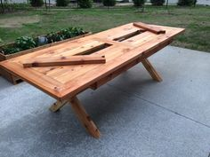 Builders Showcase // Rustic Outdoor Table with Built In Drink Cooler | The Design Confidential