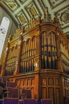 1,763 pipe Casavant Freres pipe organ of St Annes Catholic Church ...
