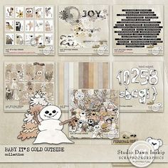 Baby its Cold Outside Collection  by Dawn Inskip  http://shop.scrapbookgraphics.com/Baby-its-Cold-Outside-Collection.html