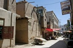 The Silk Road - China - Xinjiang - Kashgar - in the old town by Willem Proos