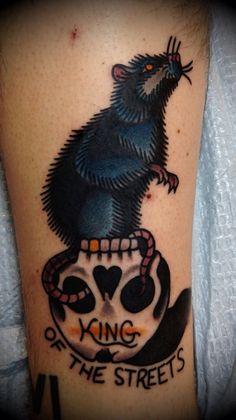 skull rat tattoo | Tumblr