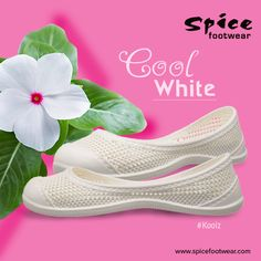 Cool white #footwear collections from Spice can give you a comfortable walk with style. Get more information here at www.spicefootwear.com today!!