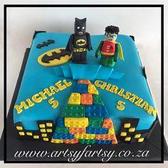 Lego Batman Cake #legobatmancake Lego Batman Cakes, Lego Cake, Superhero Cake, Cupcake Cakes, Cupcakes, Special Occasion, Birthdays, Birthday Cake, Desserts