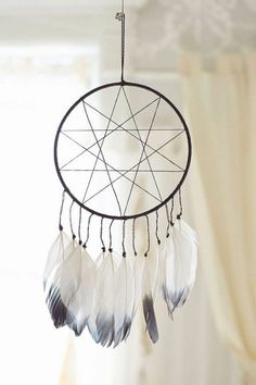 Shop Magical Thinking Double Star Dream Catcher at Urban Outfitters today. We carry all the latest styles, colors and brands for you to choose from right here. Dreams Catcher, Los Dreamcatchers, Dream Catcher Tutorial, Dream Catcher Craft, Diy And Crafts, Arts And Crafts, Magical Thinking, Easy Art Projects, Jolie Photo