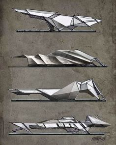 """48 Likes, 2 Comments - Kenan Pençe (@pencekenan) on Instagram: """"#architecture #arch_more #arch_sketch #architects #architect#sketchplans #sketcbookpro #sketch…"""" Futuristic Architecture, Organic Architecture, Architecture Student, Concept Architecture, Triangular Architecture, Architecture Design, Parametric Architecture, Deconstructivism, Room Interior"""