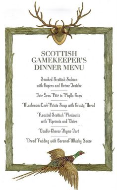 burns supper menu template - 1000 images about you 39 re invited on pinterest