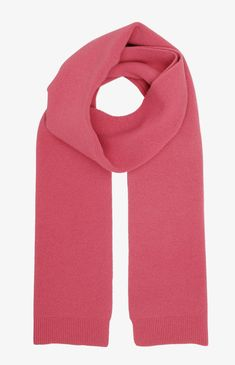 Pre-washed One size unisex Made in Portugal Italian merino wool Woolmark certified yarn Raspberry Color, Winter Essentials, Pink Scarves, Colourful Outfits, Colorful, Bubblegum Pink, Wool Scarf, Dresses Uk, Unisex Fashion