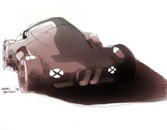 BMW Honeybadger by Nahuel Battaglia, via Behance