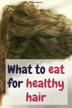 Do you know what to eat for beautiful healthy hair? The best hair growth vitamins still come from the things you eat every day. Check out this list of things you should eat to get your best hair ever! Healthy Hair Tips, Healthy Hair Growth, Vitamins For Healthy Hair, Healthy Food, Hair Growth Tips, Hair Care Tips, Hair Growth Food, Best Hair Growth Vitamins, Hair Growth Treatment