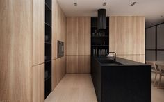 Light and Dark kitchen