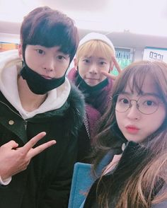 Doyoung, Gong Myung and Jung Hye Sung