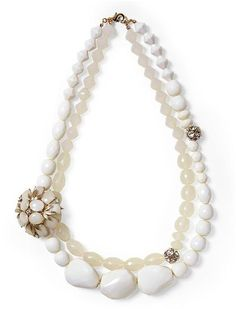 Tinley Road Beaded Flower Necklace