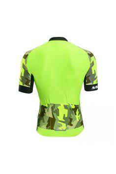 2017 Neon Yellow Hi Vis Cycling Jersey Men Cool Design. Przybornik  RowerzystyKoszulki ... 0a01f3eee