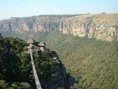 An awe-inspiring suspension bridge for the brave near Oribi Gorge, South Coast - Dirty Boots Ocean Sounds, Adventure Holiday, Kwazulu Natal, Adventure Activities, Game Reserve, Nature Reserve, Africa Travel, The Locals, South Africa
