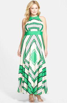 Eliza J Floral Chiffon High Low Maxi Dress Pinterest