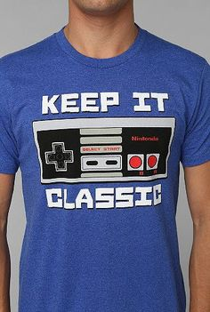 #NES Keep It Classic T-shirt by Urban Outfitters ($24) #Nintendo