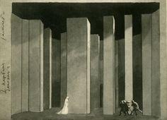 Edward Gordon Craig's - Hamlet