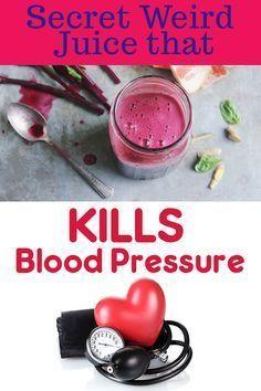 1 Secret Weird Juice that KILLS Blood Pressure #BloodPressureDrinks