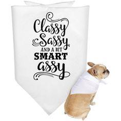 Doggie Bandana-Classy_Sassy_Smart_Assy