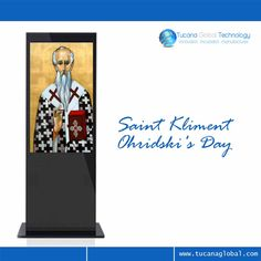 Greetings for #SaintKliment #Ohridski's Day in The Former #Yugoslav Republic of #Macedonia