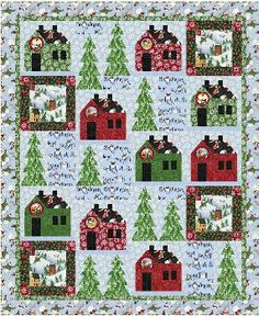 Snowville Quilt Pattern FREE DOWNLOAD Windham