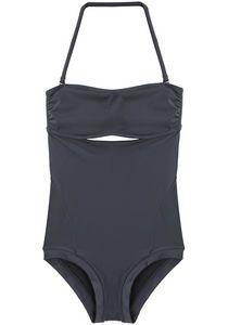 zero + maria cornejo | oona swimsuit graphite