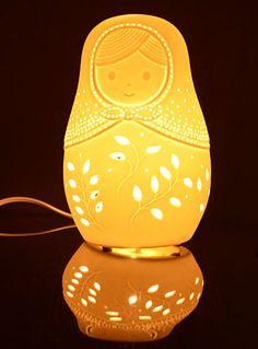 Brilliant Babushka Russian Doll Lamp at PLASTICLAND