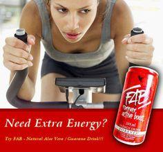FAB (forever active boost): Energie drank bevat guarana voor een natuurlijke energy boost.bevat  een mix van adoptogenische kruiden. Voor energie op korte en lange termijn.  https://www.foreverliving.com/retail/entry/Shop.do?store=BEL&language=nl&distribID=310002029267