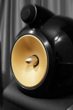 Speaker by Saty-Singh, via Flickr (B&W)
