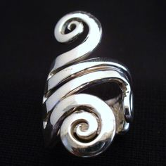 Sterling Silver Real Fork Ring