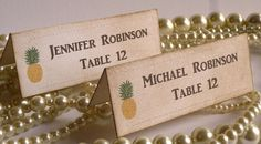 Place Cards Wedding Place Cards Etsy Weddings by amaretto on Etsy