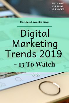 Digital marketing trends 2019 is a glimpse into the future and a collection of tips and trends from the experts about what you might want to try next year. Find a new approach, solidify a practice that is working or makes a small change for a bigger result with these expert trend tips for 2019. Click to find out what they are! #digitalmarketing #contentmarketing #socialmediamarketing