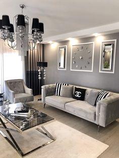 Home Room Design, Home Design Decor, Interior Design Living Room, Living Room Designs, Decor Home Living Room, Living Room Modern, Home Decor Furniture, Aesthetic Room Decor, Interiores Design