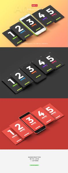 UI Presentation Kit, Device Mockups by LStore on Creative Market