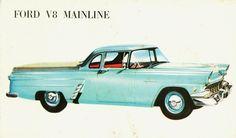 1956 Ford V8 Mainline Ute (Australia)