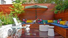 Jardines pequeños con encanto - Las nuevas tendencias para 2021 - Plantar, Landscape Design, New York City, Nyc, Outdoor Decor, Exterior, Home Decor, Hanging Gardens, Garden Layouts