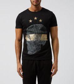 Black Skull Print Front T-Shirt - that should be mine!