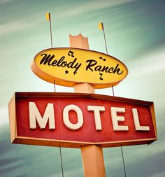 Melody Ranch Motel by Shakes The Clown, via Flickr
