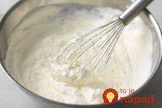 Čo dokáže šľahačka, ak ju nalejete na mäso? Triky profesionálov, vďaka ktorým dokážete s obľúbenou pochúťkou hotové divy! Stabilized Whipped Cream, Making Whipped Cream, Homemade Whipped Cream, Cookbook Recipes, Cooking Recipes, Egg Cake, Sweet Dough, King Arthur Flour, Sweet Sauce
