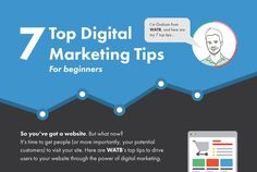There are many business websites out there that are very attractive, creative & have potential but unfortunately are lacking in website traffic/sales – this is due to the owners making the mistake in not optimising their marketing strategy!   Check out this link from watb, of which outlines 7 critical steps in optimising your digital marketing strategy.  Contact us now to explain how we could help plan & execute your marketing strategy and how our approach could help make your business a…