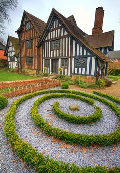 Selly Manor, Bournville, England, built in the 13th century now a museum housing the Laurence Cadbury furniture collection. Also a beautiful wedding venue